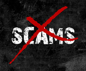 gutter scams, avoid scams, door-to-door sales scams